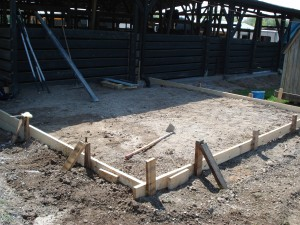 Foundation for Lounge and Bathroom