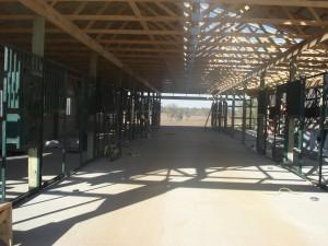 Hallway of the Barn